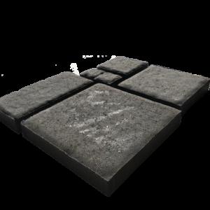 Ritarikivi kivisarja pintaprofiloituna